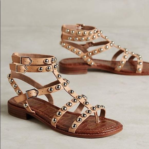 78875dc2060c4 Sam Edelman Eagan Gladiator Studded Sandal. M 5c5645f5fe5151099c30b9e8